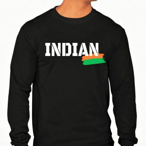 Big Salute INDIAN Full Sleeve Long T Shirt For Men (2)