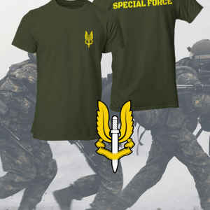 Army T Shirt Big Salute
