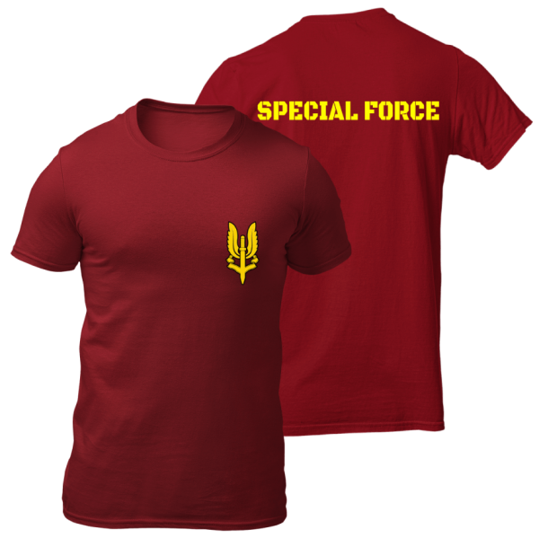 Army T Shirt Big Salute Balidan
