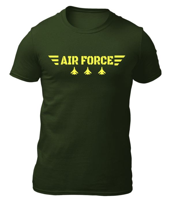 Big Salute Air force Star Wings Olive Green
