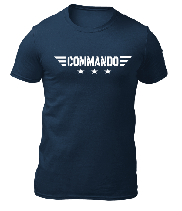 Big Salute Commando Star Wings Navy Blue