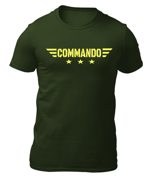 Big Salute Commando Star Wings Olive Green